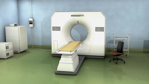 CT Scanner stock footage