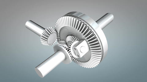 Differential gear Animation