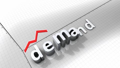 Growing chart - Demand Animation