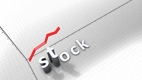 Growing chart - Stock Animation