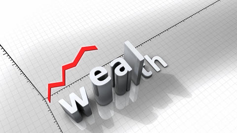 Growing chart - Wealth Animation