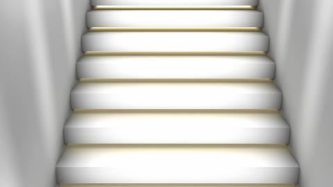 Loop Stairs stock footage