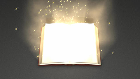 Magical book Animation