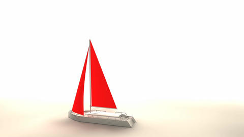 Sailboat stock footage
