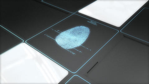 Security ID scan Animation