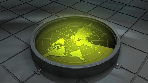 World radar Animation