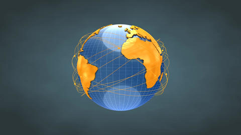 Worldwide Network stock footage