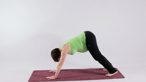 Yoga for pregnant woman Footage