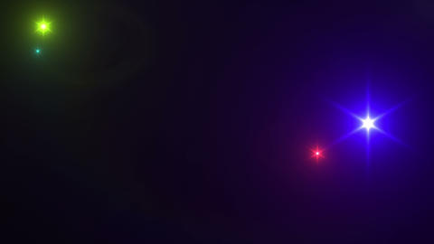 Flash Lens Flares LS Bac 2 4k Animation