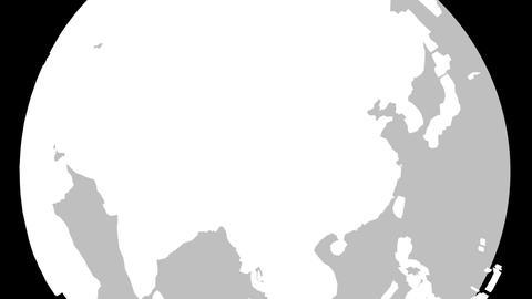 China Globe Zoom In v2 1 CG動画