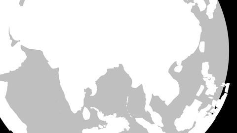 India Globe Zoom In v2 1 CG動画