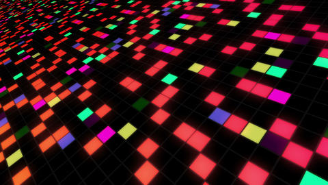 Square Cell Grid light background Bb 3 4k Animation