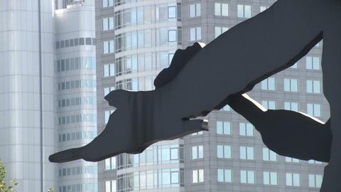 Kinetic sculpture Footage