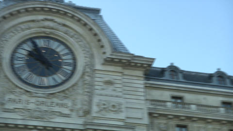 Facade of Orsay Museum Live Action