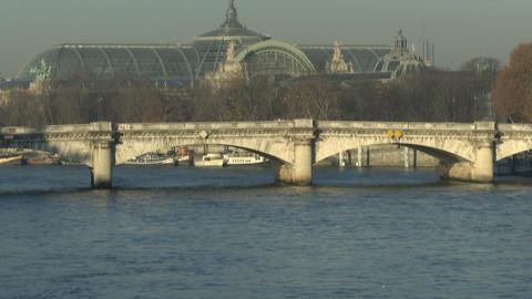 Grand Palais in Paris Footage