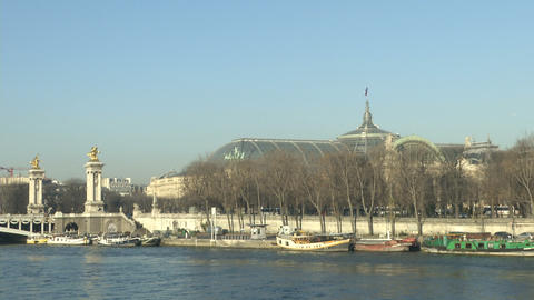 Grand Palais in Paris Footage
