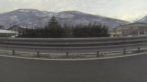 Highway in Italy Footage