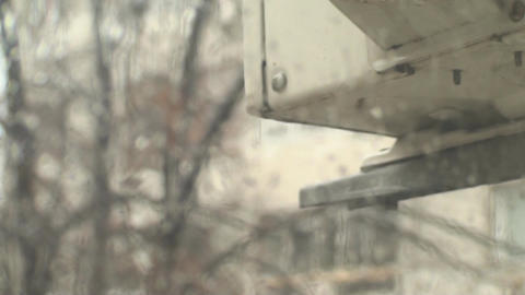 Rain Dripping Of An Old AC Installation ライブ動画