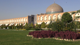 Imam Square And Lotfollah Mosque In Isfahan, Iran stock footage