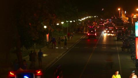 Night street Footage