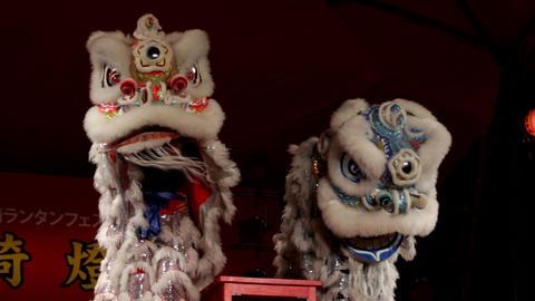 中国獅子舞002 ภาพวิดีโอ