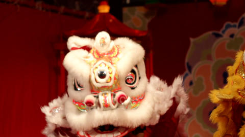中国獅子舞003 Footage