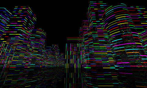 Neon Light City F 4 A 1 4k Animation