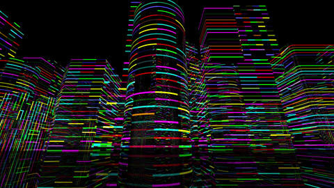 Neon Light City S 1 A 1 4k Animation