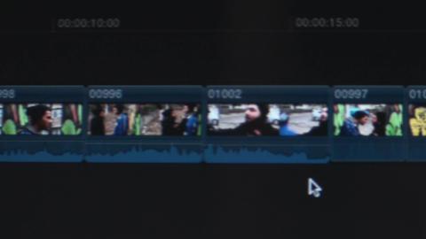Editing Software Timeline Pan-Shot Live Action