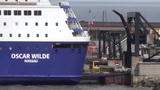 Europort Ferry stock footage