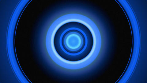 Light Circles Blue stock footage