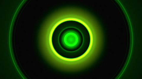 Light Circles Green Animation