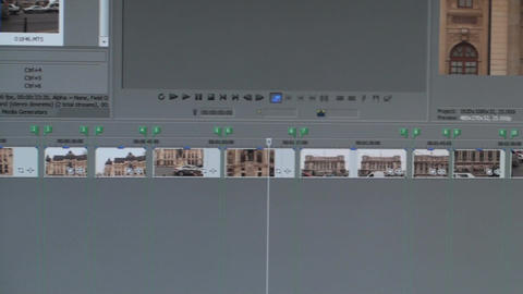 Video Editing Software Timeline Pan-Shot Live Action