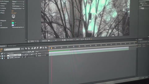 Video Editing Software Adding Effects Onto Video P Live Action