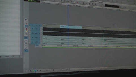 Video Editing Software Timeline Pan-Shot Footage