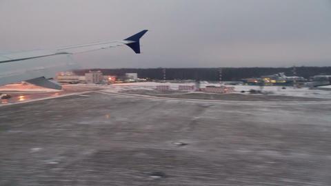 Landing Aircraft Footage