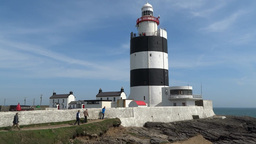 Hook Lighthouse 1 stock footage