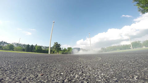 Mustang Burnout Footage