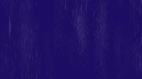 Heavy rain storm,Blizzard snow fall in night Animation