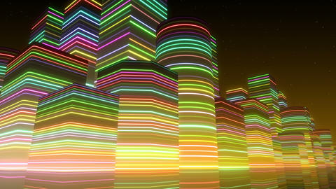 Neon Light City F 3 Bc 2 4k Animation