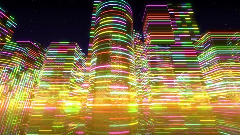 Neon Light City S 1 Ac 2 4k Animation