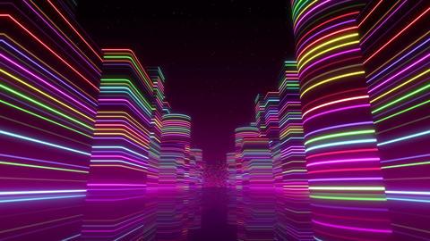 Neon Light City Z 1 Bb 2 4k Animation