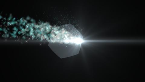 Light and smoke green Animation