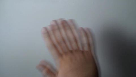 Man's Hand Waving Gesture, Hands, Signs, Meaning P Live Action