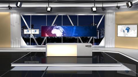 News Studio 100 C 1 Push Animation
