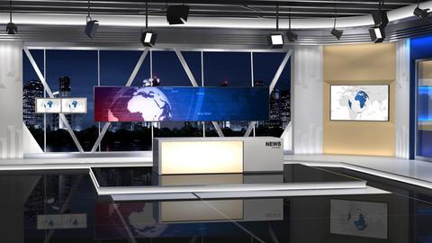 News Studio 100 C 2 Shift right Animation