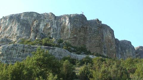 Crimea Landscape stock footage
