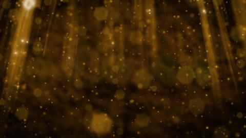 Cavern gold CG動画素材