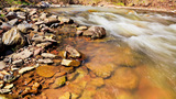 Mountain Stream, Time Lapse 4K stock footage