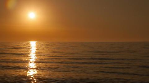 Sunset timelapse on the Black sea near Batumi, Geo Footage